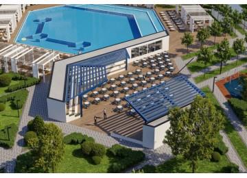 Бассейны в отеле Грейт Эйт в Анапе